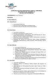 CURSO ECG BASICA - Universidad del Desarrollo