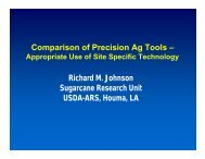 Comparison of Precision Ag Tools-Appropriate Use of Site Specific ...