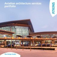 Aviation architecture services portfolio