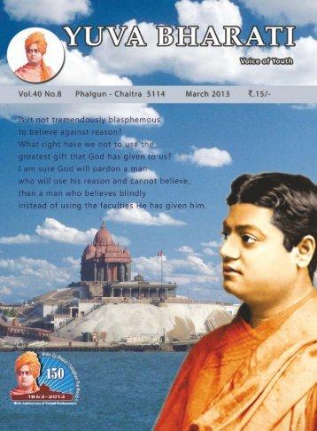 March 2013 Final curve-1.pdf - Vivekananda Kendra Prakashan