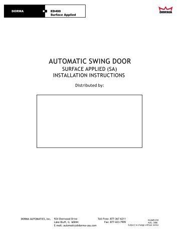 automatic swing door dorma international?quality=85 ed 100 250 swing door operators dorma dorma ed 400 wiring diagram at crackthecode.co