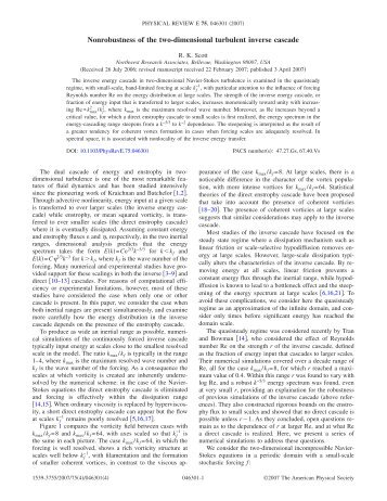 Nonrobustness of the two-dimensional turbulent inverse cascade