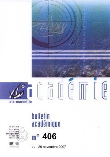 26 novembre 2007 - Allemand - Académie d'Aix-Marseille