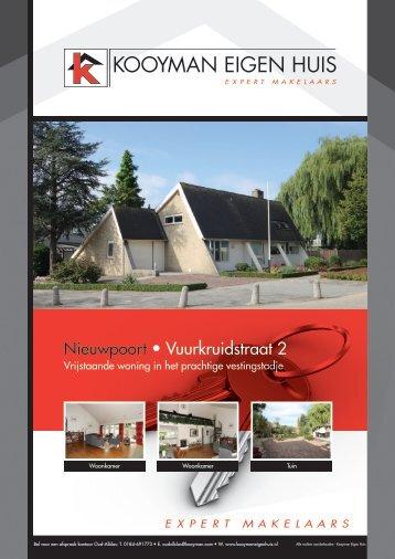 Nieuwpoort • Vuurkruidstraat 2 - Kooyman Eigen Huis