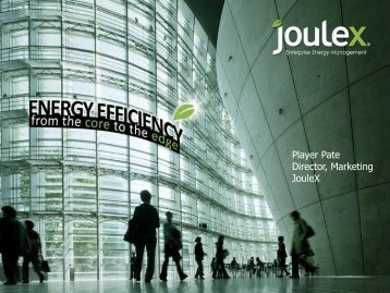 Energy Efficiency from the Core to the Edge- Player Pate