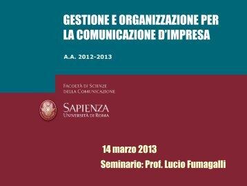 Strategia - Dipartimento di Comunicazione e Ricerca Sociale