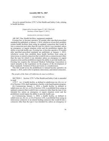 Assembly Bill No. 1867 CHAPTER 194 An act to amend Section ...