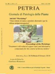 fascicolo / issue 1 - CRA-PAV
