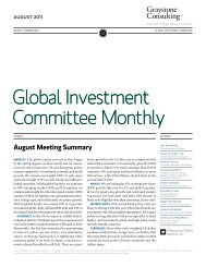 Global Investment Committee Monthly - Morgan Stanley
