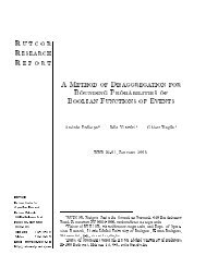 Lower and Upper Bounds on Probabilities of Boolean Functions of ...