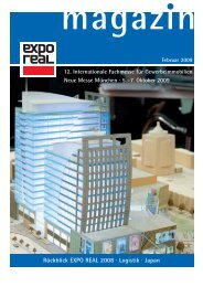 Rückblick EXPO REAL 2008 · Logistik · Japan - perfekt formuliert