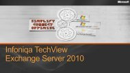 Exchange Server 2003 - Infoniqa