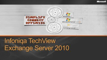 Exchange Server 2003 - Infoniqa
