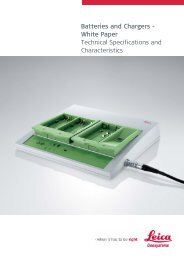 Batteries and Chargers - White Paper Technical ... - Cansel