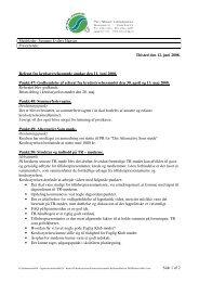 Side 1 af 2 Thisted den 12. juni 2008. Referat fra ...