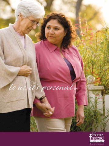 Who We Are and What We Do - Home Instead Senior Care