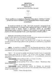 detalii - Primaria Piatra-Neamţ