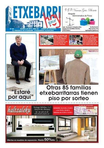 Marzo 2011 - Ayuntamiento de Etxebarri