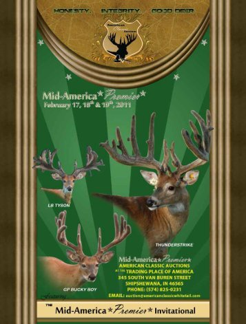 Front cover to page 39 - Whitetail Deer Farmer