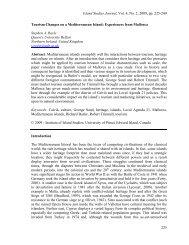 Island Studies Journal, Vol. 4, No. 2, 2009, pp ... - Island Studies.ca