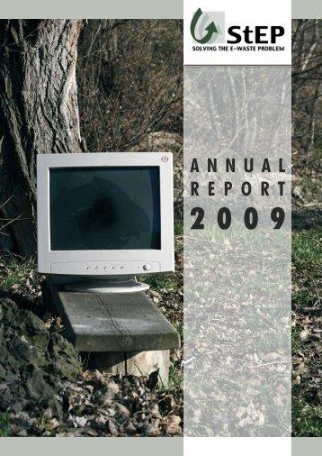 Annual Report 2009 - UNU-ISP - United Nations University