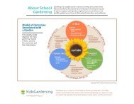 About School Gardening - KidsGardening.com