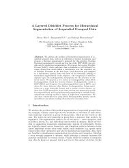 A Layered Dirichlet Process for Hierarchical ... - Iisc.ernet.in