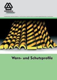 Warn- und Schutzprofile - HENNLICH GmbH & Co KG