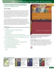 Practical Theology, Spirituality & Formation - Baker Publishing Group