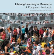 Lifelong Learning in Museums A European Handbook - Istituto per i ...