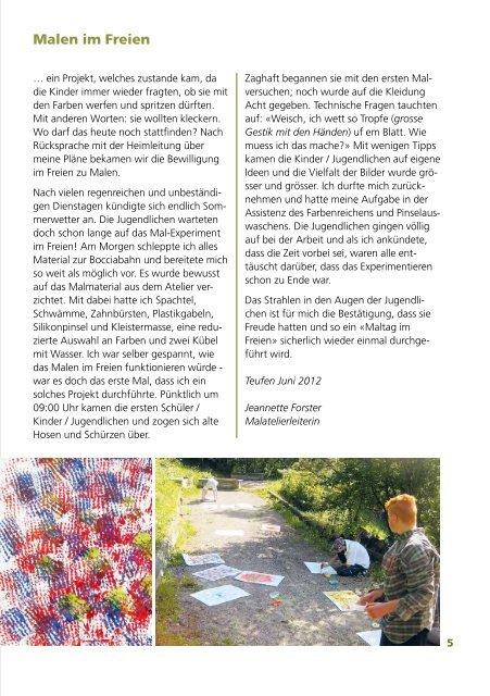 Jahresbericht 2012 - Bad Sonder