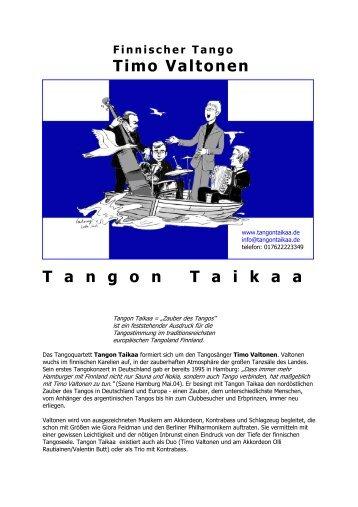 Tangon Taikaa - DFG Portal