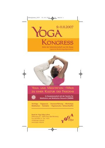 Kongress - Yoga Vidya