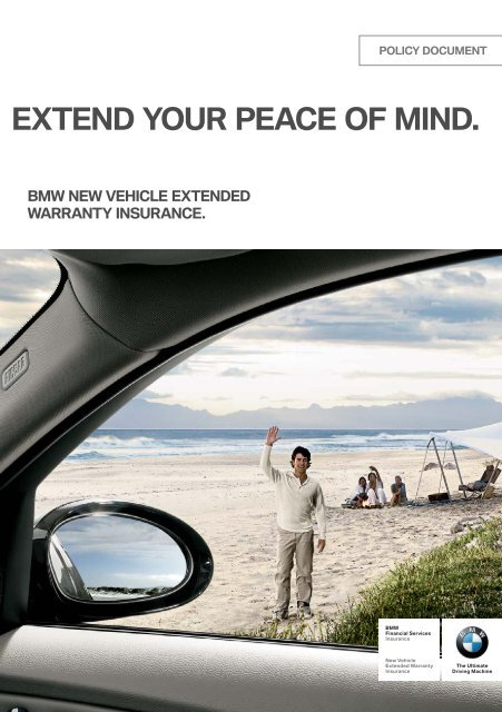 Bmw Extended Warranty >> Bmw New Vehicle Extended Warranty Insurance