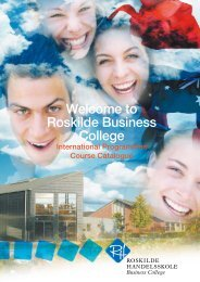Welcome to Roskilde Business College