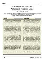 Marcadores Inflamatórios Aplicados à Medicina Legal - NewsLab