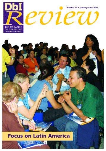 DbI Review 35 - Deafblind International