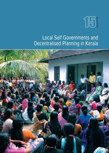 Local Self Governments and Decentralised Planning in Kerala