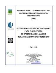 Recomendaciones de Metodologías para el Monitoreo de ...