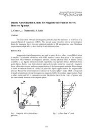 Dipole Approximation Limits for Magnetic Interaction Forces ...