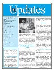 UWRA UPDATES 2nd issue 2004 - United Way Retirees Association