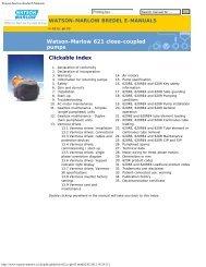 621 Close coupled pumps - Watson-Marlow