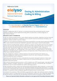 Dosing & Administration Coding & Billing - PfizerPro