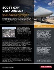 SOCET GXP® Video Analysis - BAE Systems GXP Geospatial ...