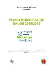 PLANO MUNICIPAL DE SAÚDE 2010 2013 - Maringá