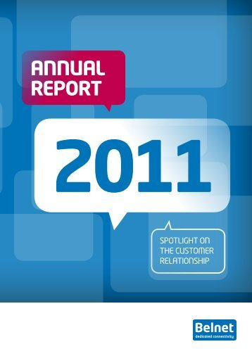 2011 Annual Report - Belnet