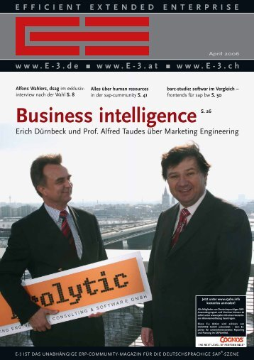 Business intelligence - E3cms.de
