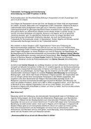 Todesstrafe, Verfolgung und Anerkennung - Hirschfeld-Eddy-Stiftung