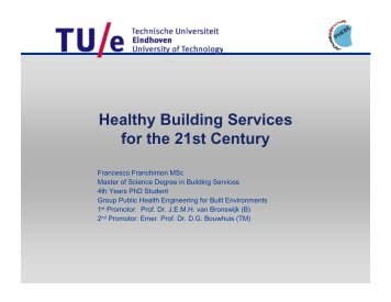 Healthy Building Services for the 21st Century