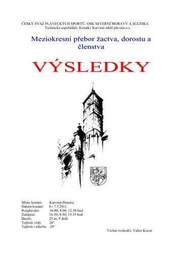 2. 200 VZ ženy - 1997 - 1998 - Český svaz plaveckých sportů